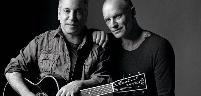 Paul Simon e Sting in concerto al Mediolanum Forum